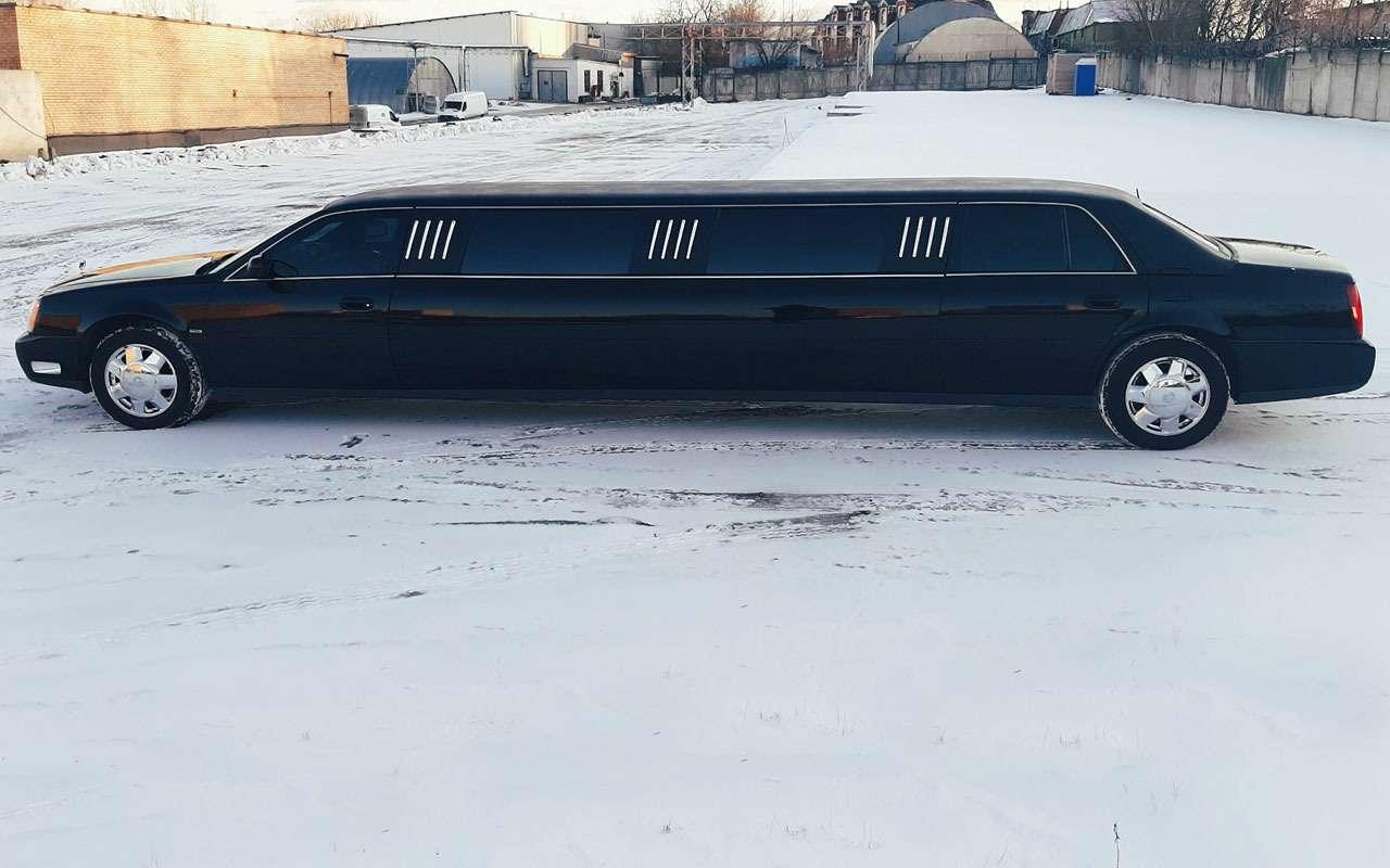 Басков продает лимузин за45000 у.е. Интересно, кто возьмет— фото 1083206