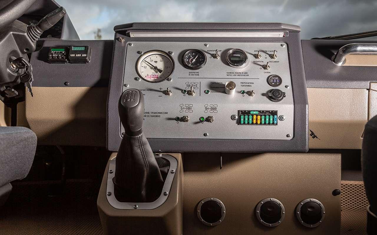 Вездеход «Бурлак»: лучшая машина дляснежных пустынь— фото 1001455