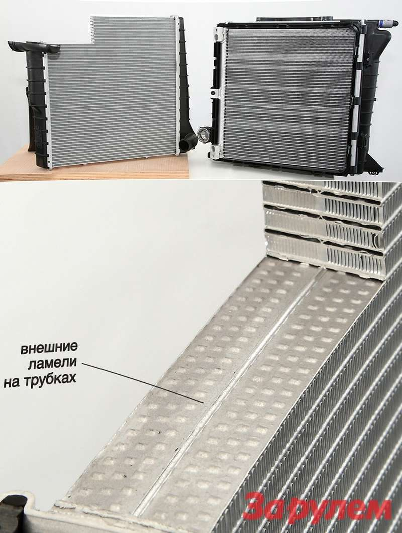 radiator Porsсhe 991