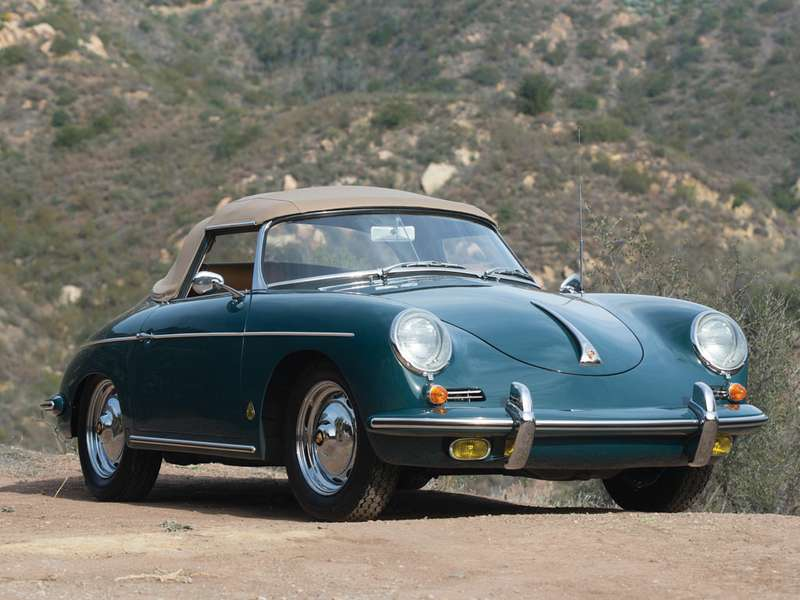 no_copyright_1960 Porsche 356B 1600 Roadster byDrauz