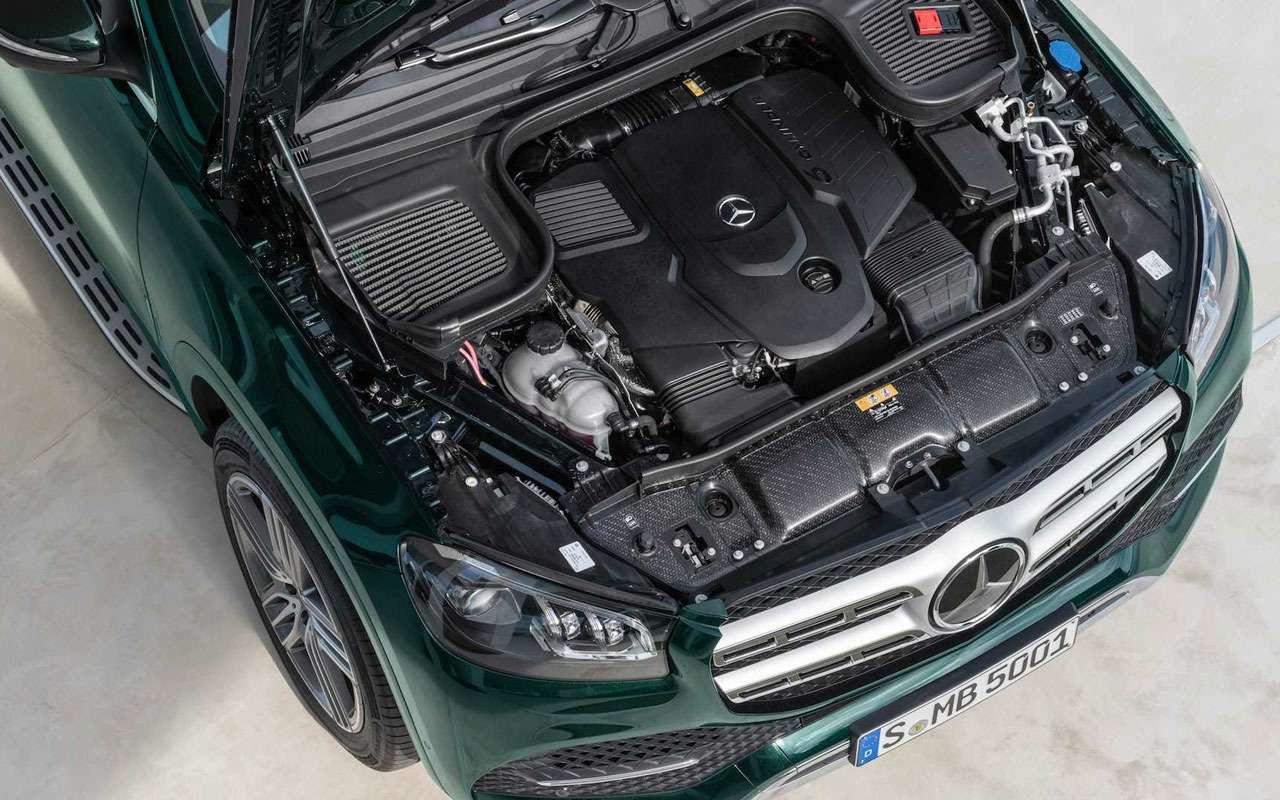 Новый Mercedes-Benz GLS: салон на7, двигатель на8— фото 967455