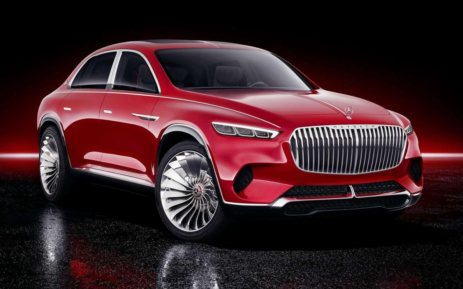 Кросс-седан Mercedes-Maybach Ultimate Luxury: золото, чайник, электричество— фото 865356