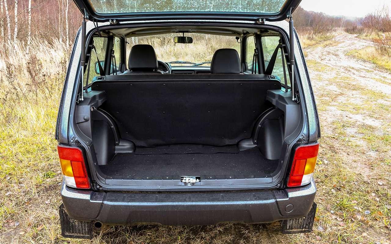 Тест-драйв легенд бездорожья: Lada 4x4, Suzuki Jimny, Jeep Wrangler— фото 1089444