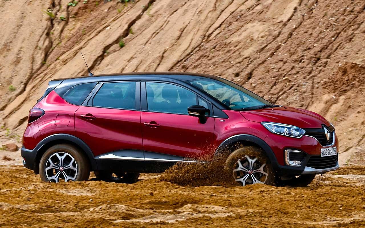 Renault Arkana, Duster, Kaptur: большой тест кроссоверов— фото 996226