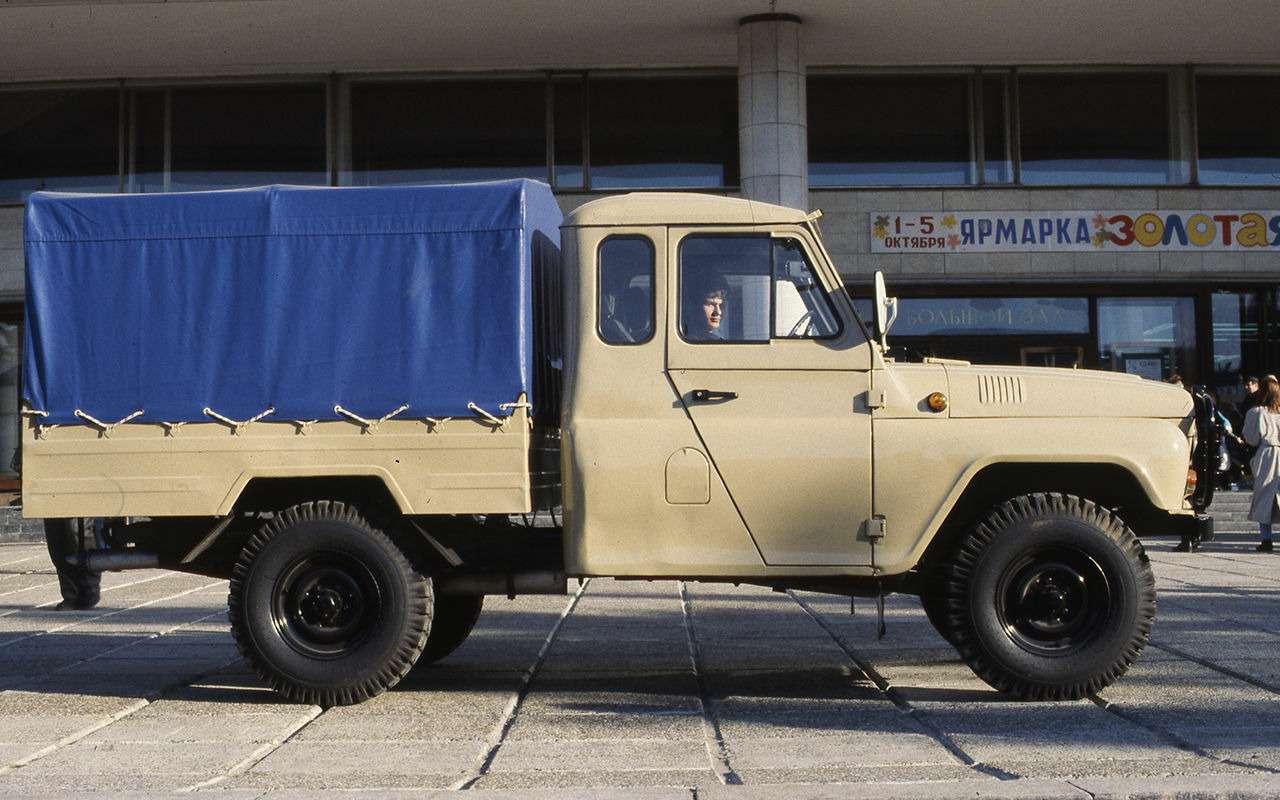 «Козлик» УАЗ-469— таких модификаций выточно не видели!— фото 978726