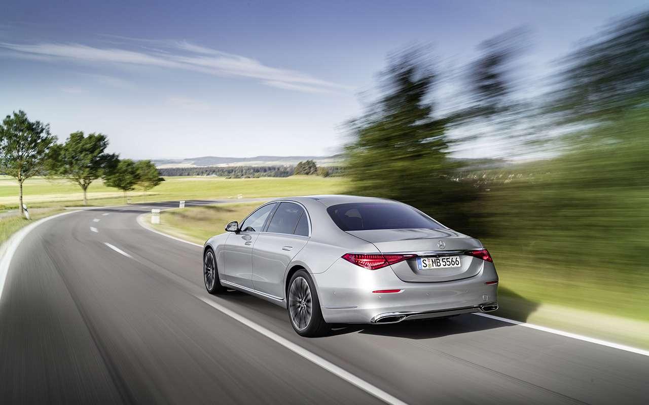 Новый Mercedes-Benz S-Класса наведет порядок дома— фото 1164320