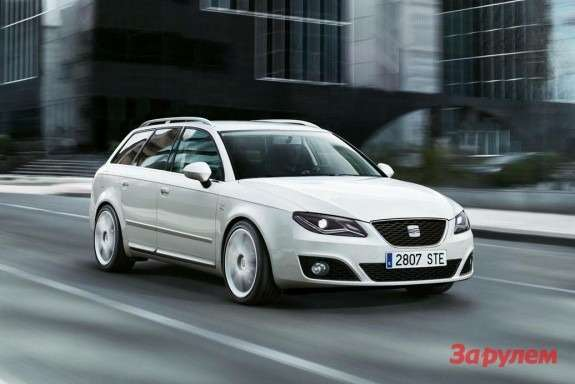 SEAT Exeo STside-front view