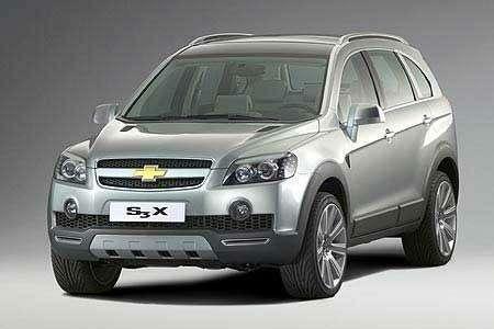 Новый Opel Frontera— пока вкамуфляже— фото 104114