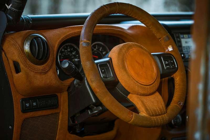 Арт-студия Vilner презентовала «ржавый» Jeep Wrangler