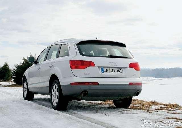 ПРЕЗЕНТАЦИЯ: Audi Q7. Раскрытый резерв— фото 63529