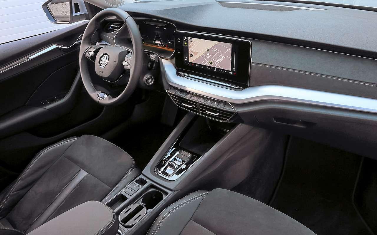 Новая Skoda Octavia представлена вРоссии— фото 1168010