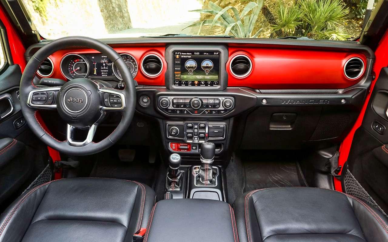 Новый Jeep Wrangler— этот «проходимец» верен себе— фото 893435