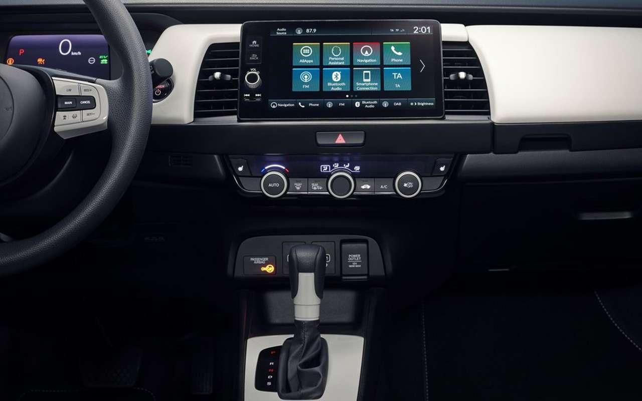 Honda представила вТокио новый Jazz— фото 1004185