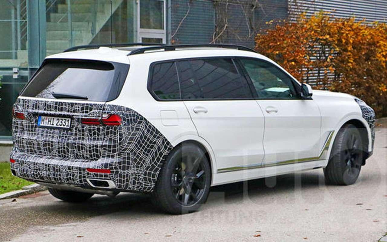 BMWX7готовится крестайлингу— фото 1220935