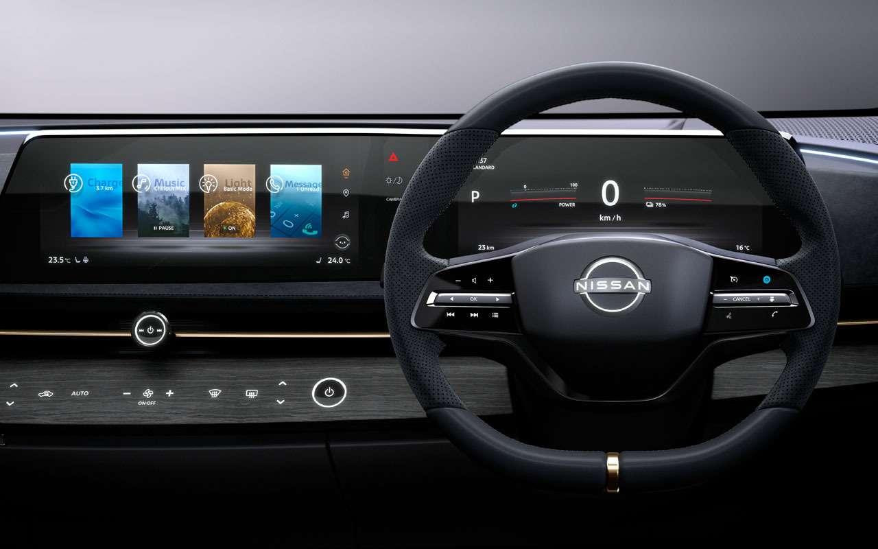 Новый кроссовер Nissan Ariya— скоро впродаже— фото 1004164