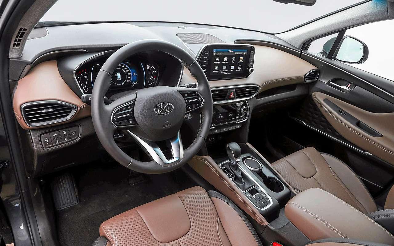 Hyundai Santa Feпротив конкурентов: большой тест кроссоверов— фото 931480