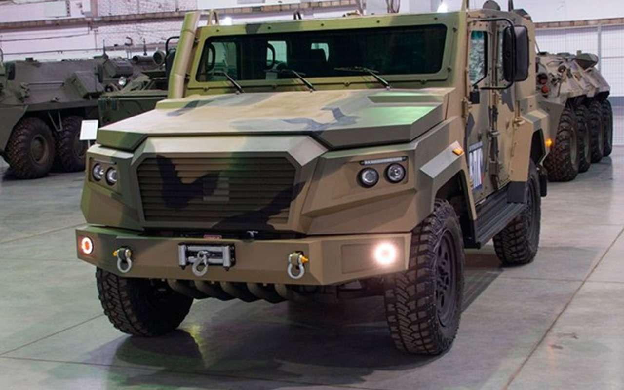 Сделан новый бронеавтомобиль. Все компоненты— российские— фото 1145204