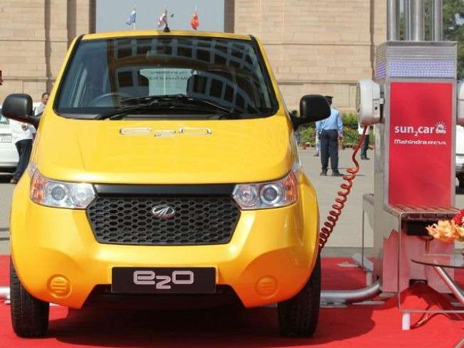 no copyright mahindra e2o