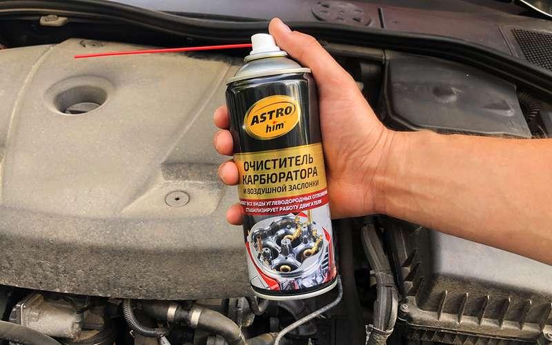 Автомобильная астма, или Как правильно чистить карбюратор идроссель