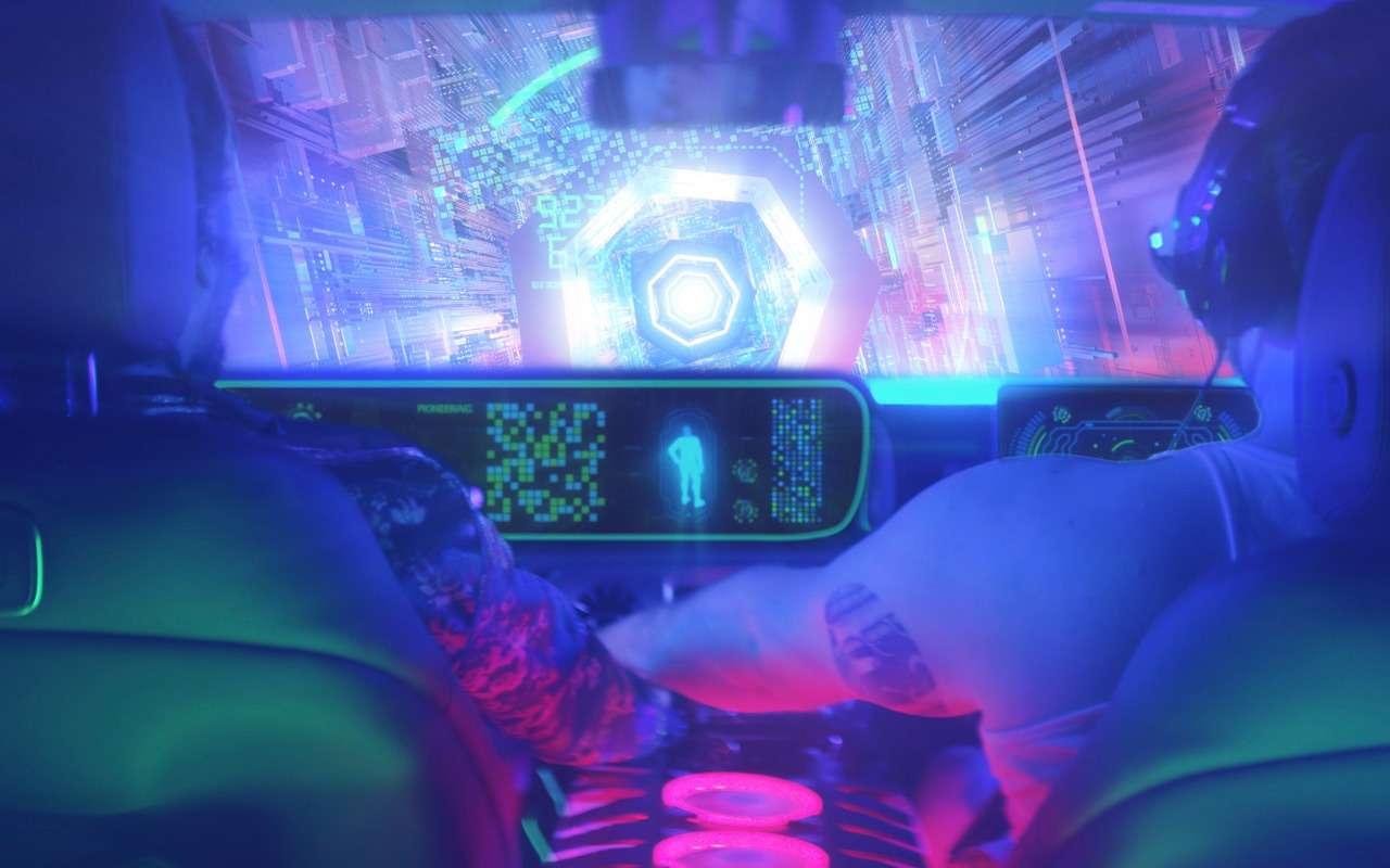 Mercedes-Benz хочет интегрировать видеоигры вавтомобили иавтобусы— фото 959669