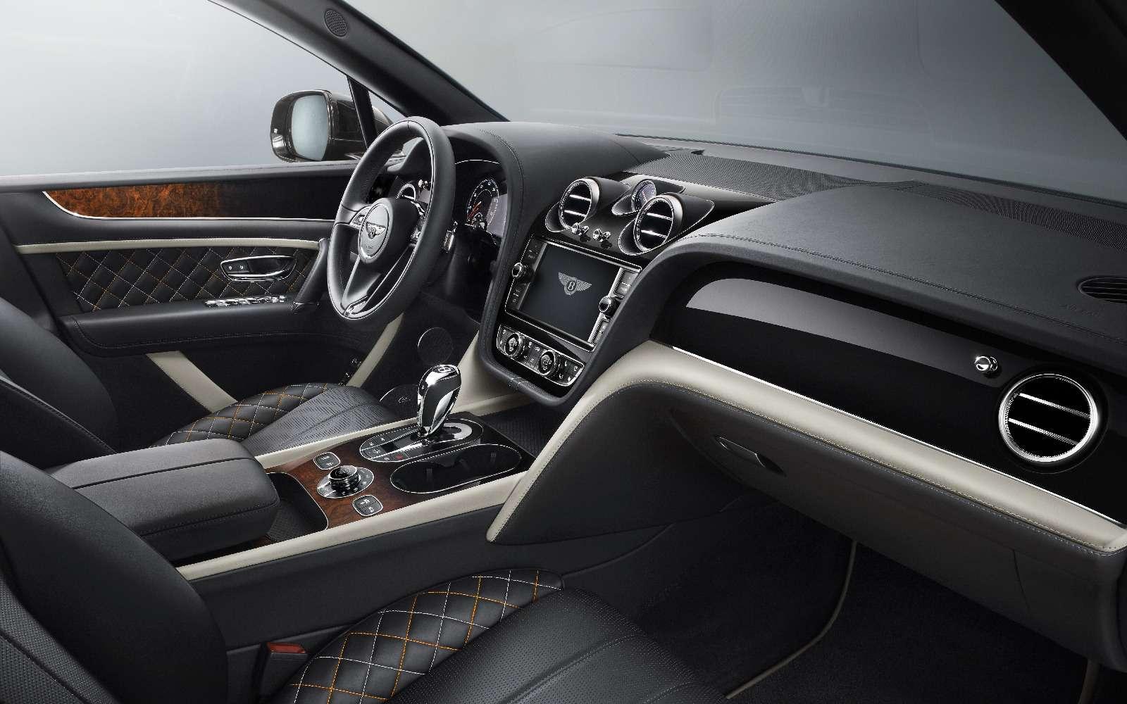 Bentley Bentayga Mulliner: миллиардеры, вочередь!— фото 714706