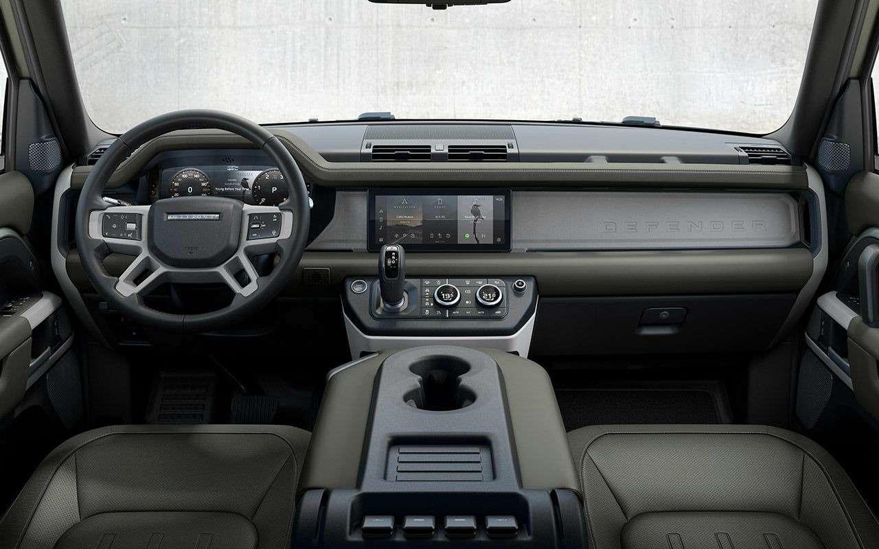 Новый Land Rover Defender: все его главные особенности— фото 1002765