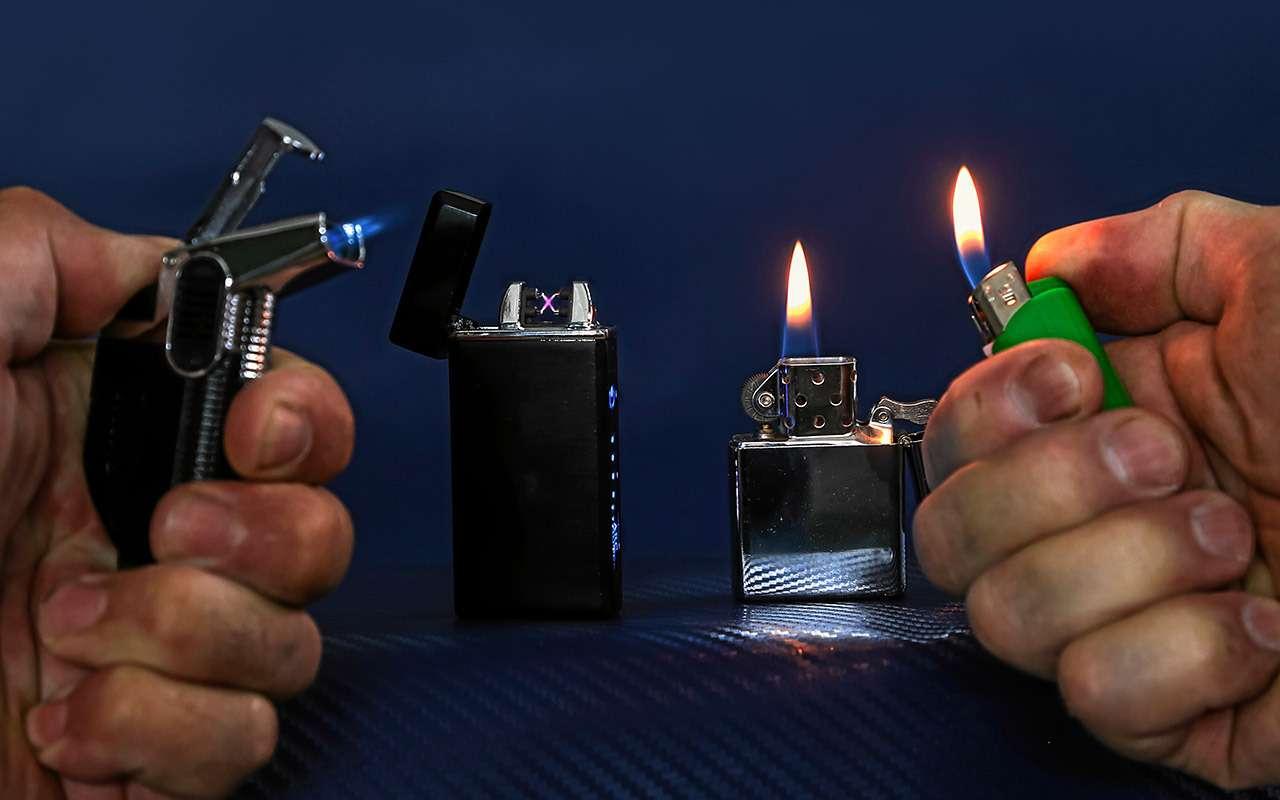 Зажигалка нажаре: рванет или нет? Эксперимент «Зарулем»— фото 1265486