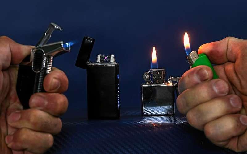 Зажигалка нажаре: рванет или нет? Эксперимент «Зарулем»