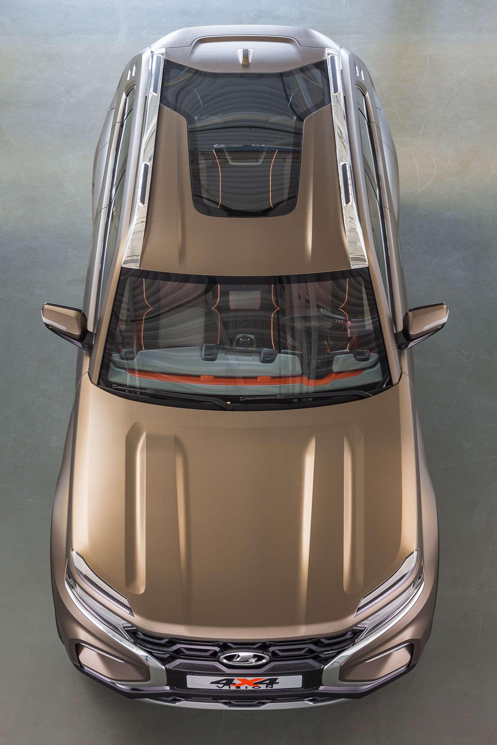 Lada 4x4 Vision: рассматриваем совсех сторон— фото 902308