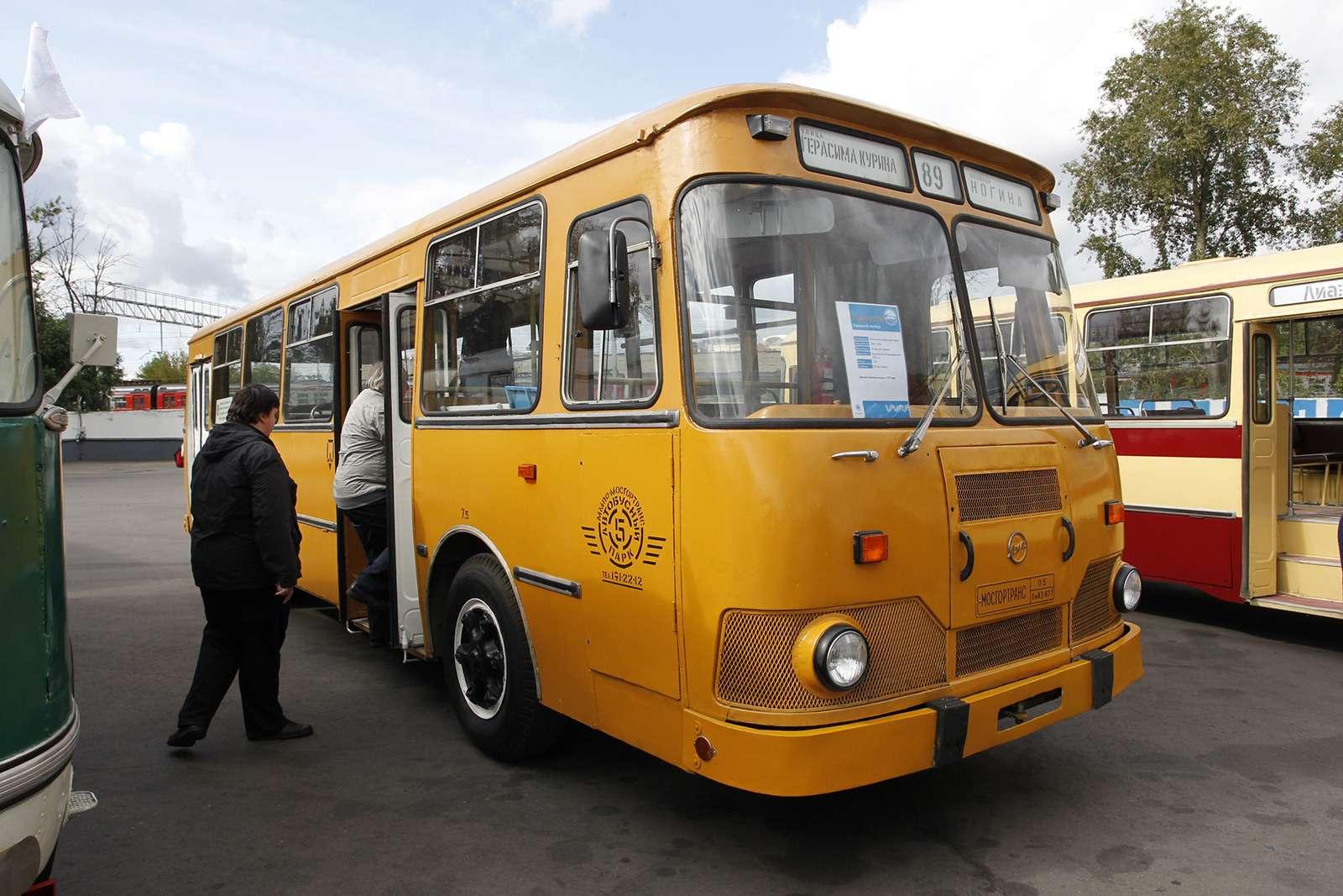 Автобусы нашего детства— выставка пассажирского транспорта— фото 792684