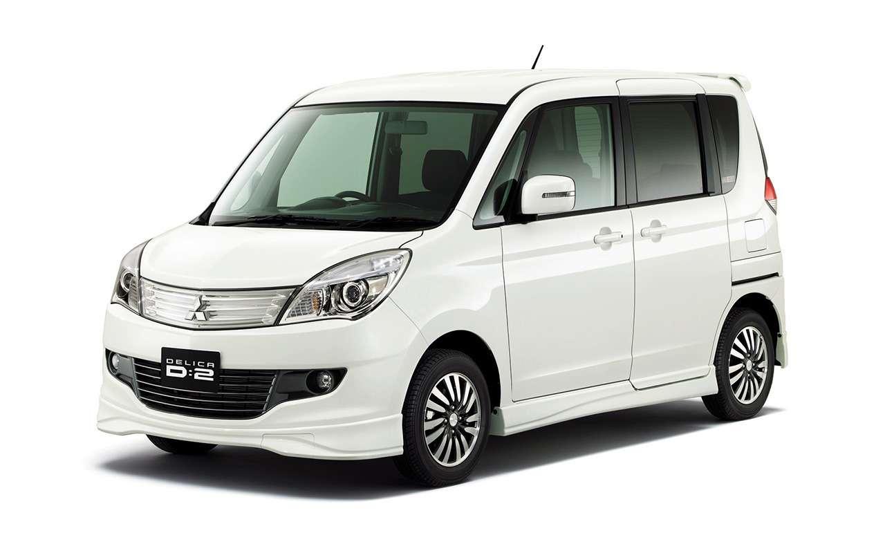 10моделей Mitsubishi, которые не продают вРоссии— фото 907767