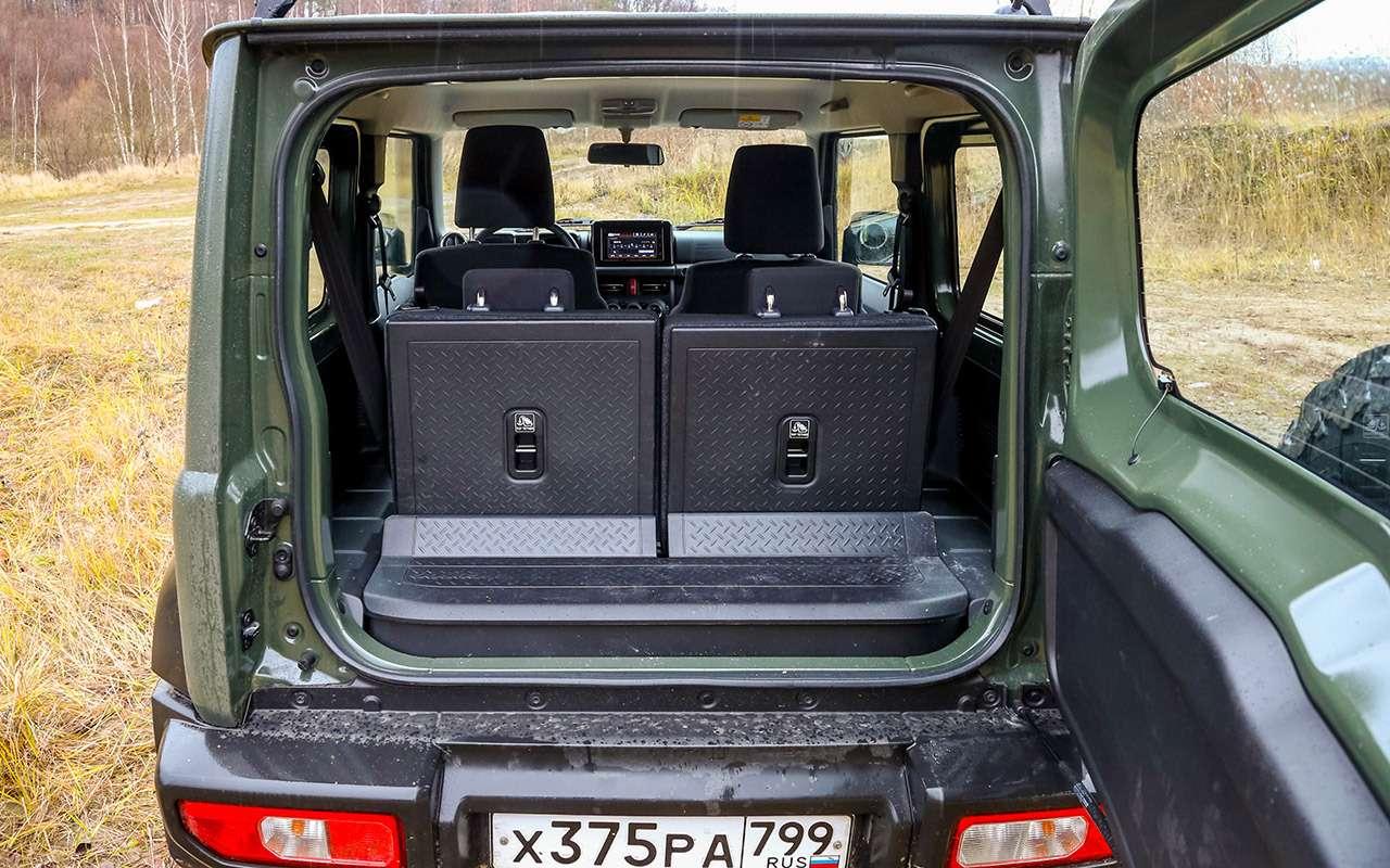 Тест-драйв легенд бездорожья: Lada 4x4, Suzuki Jimny, Jeep Wrangler— фото 1089427