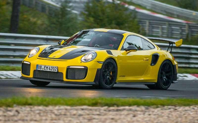 Порше 911 GT2 RSустановил новый рекорд Нюрбургринга