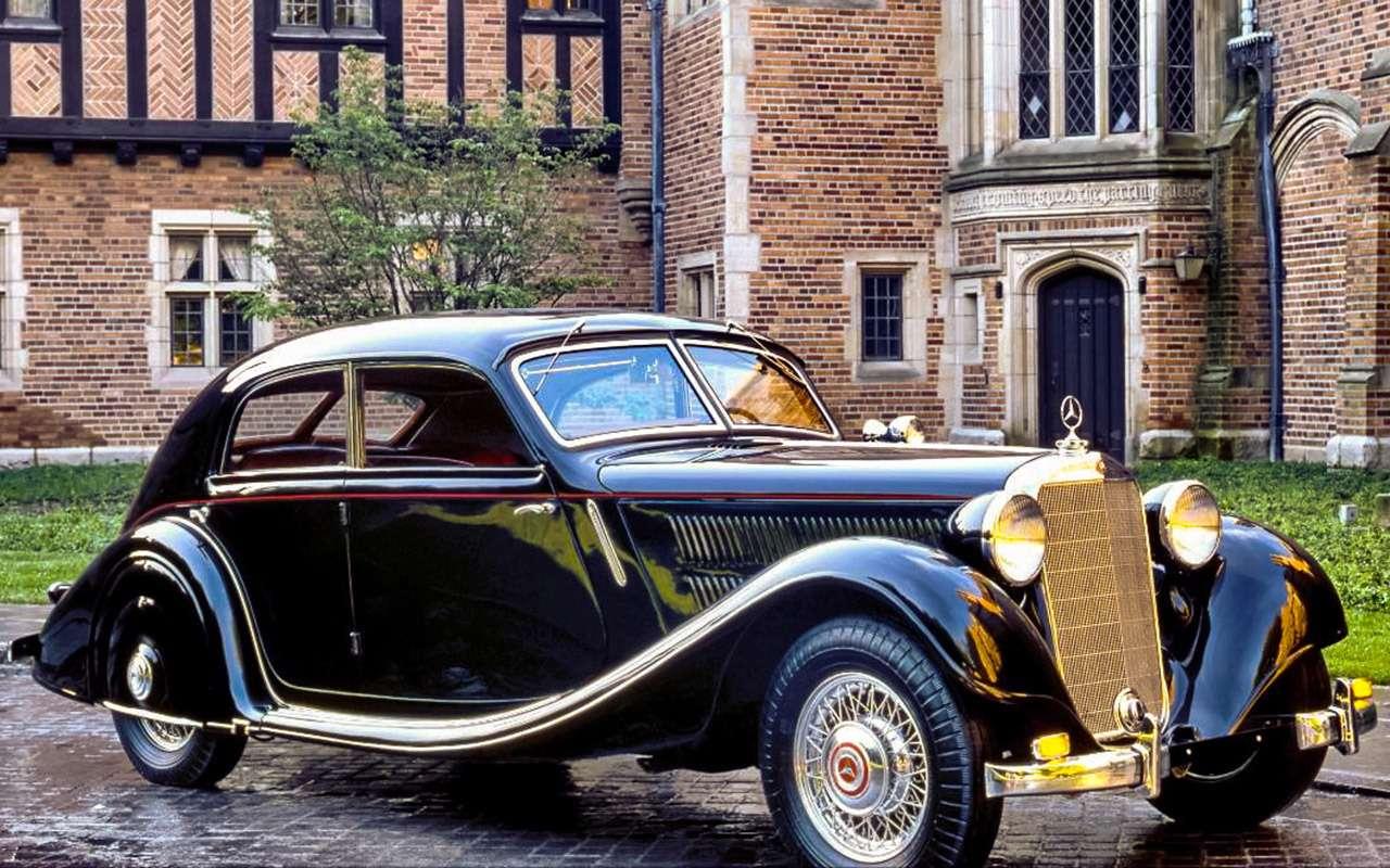 Очень редкий Мерседес W142— ретротест кабриолета-пенсионера— фото 950199
