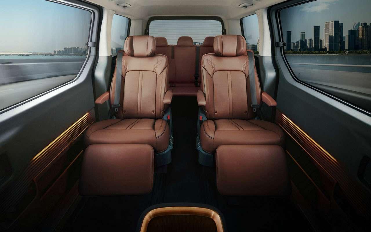 У Hyundai еще одна новая модель— Staria— фото 1239207