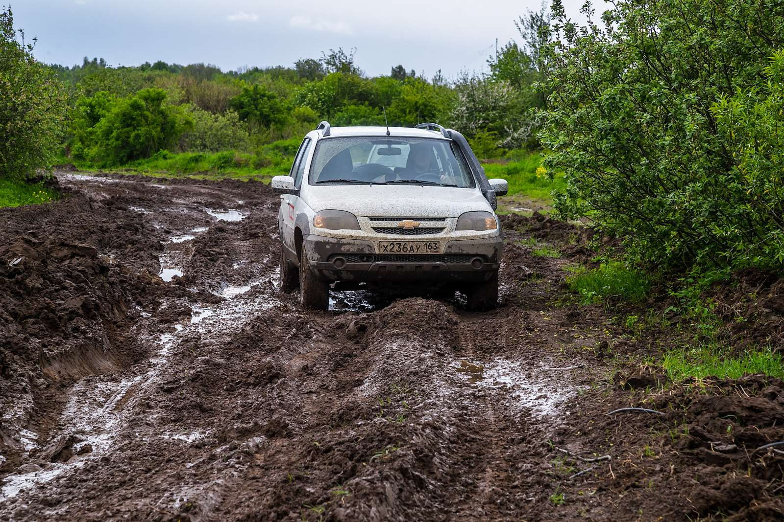 Chevrolet Niva: 10000 километров замесяц— фото 603211