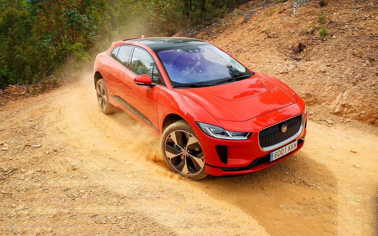 Jaguar I-Pace: никакого топлива, только электричество!— фото 876978