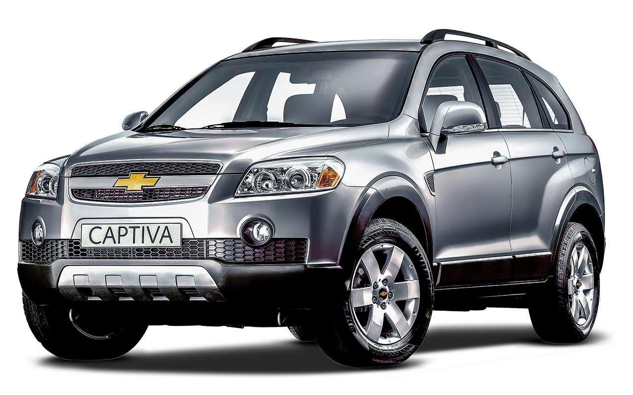 Chevrolet Captiva свторички: список проблем— фото 1167330