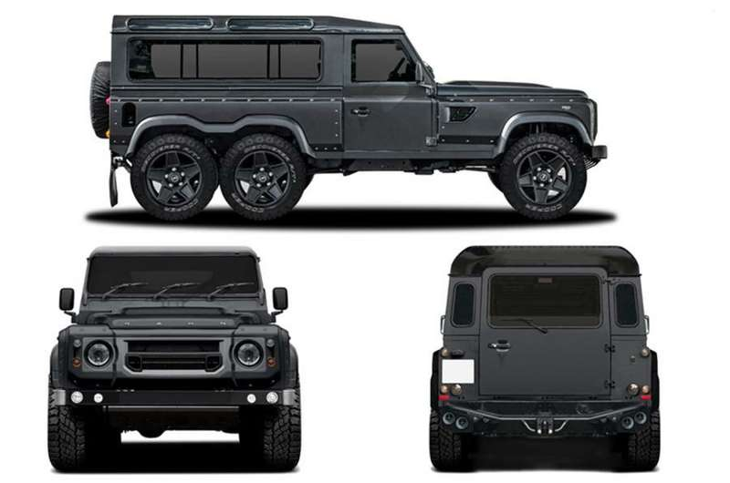 В Женеву привезут Land Rover Defender с колесной формулой 6x6