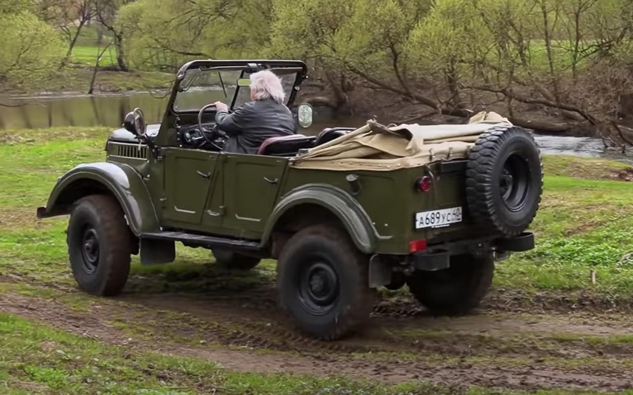 ГАЗ-69: кабриолет сдверьми нашпингалетах— фото 1245964