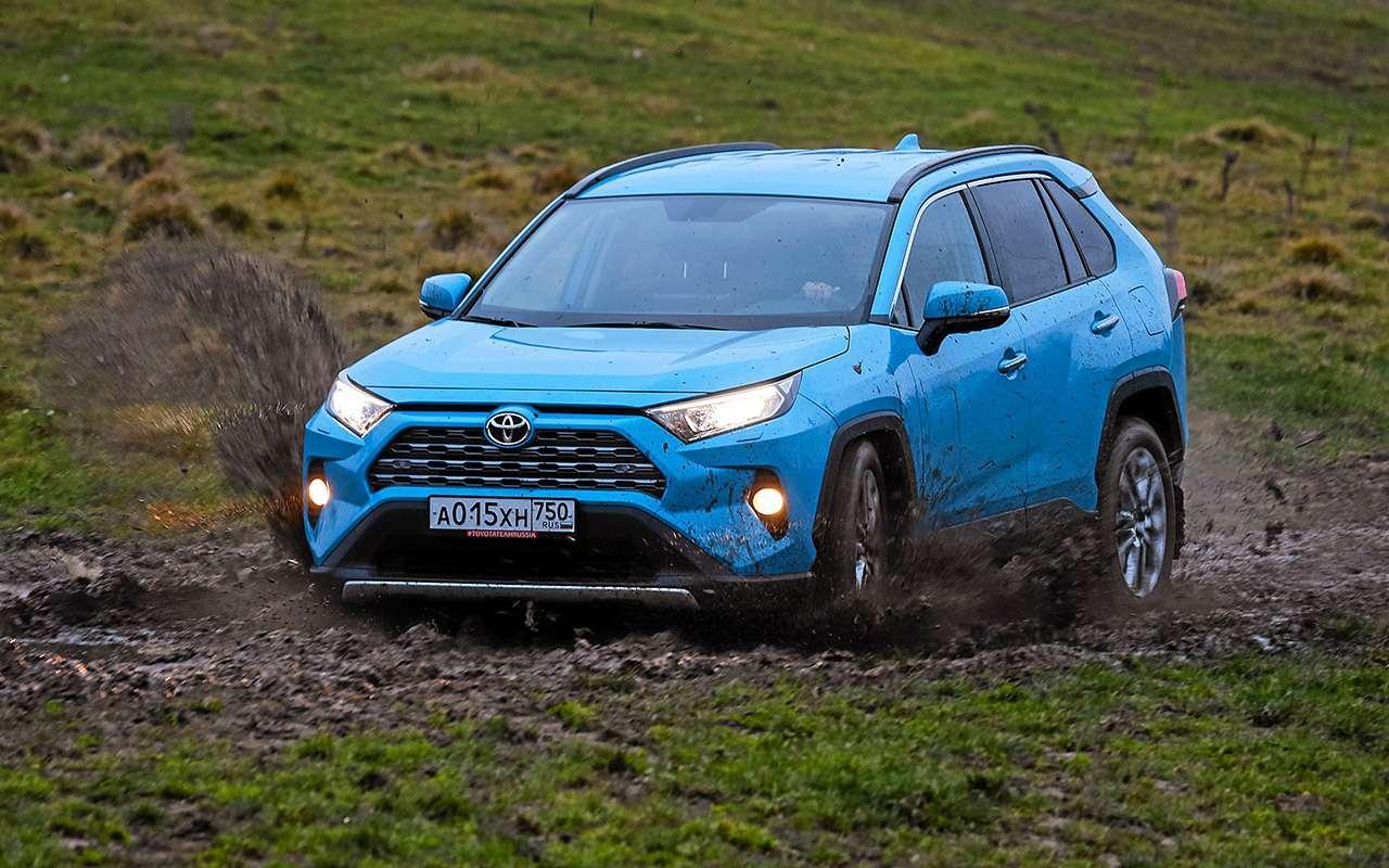 Новый Toyota RAV4, Forester иOutlander: большой тест кроссоверов— фото 1057722