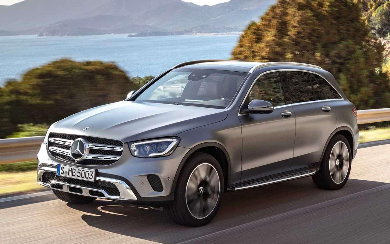 Обновленный Mercedes-Benz GLC: 10отличий— фото 953432
