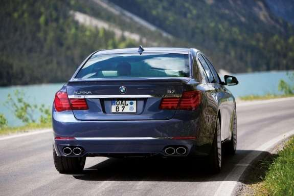 Facelifted Alpina B7rear view