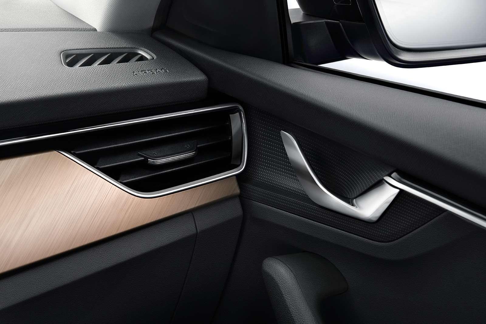 Skoda рассекретила интерьер своей новой модели— фото 927222