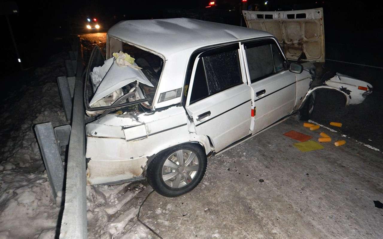 Лишенный прав за«пьянку» водитель устроил ДТП с10пострадавшими— фото 935863
