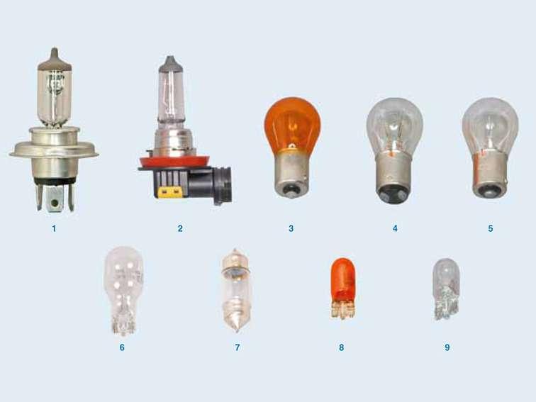 какие лампы используются на киа рио 3