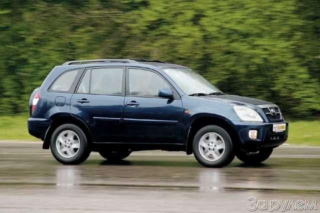 Chery SUV T11. Вишенка отяблони— фото 57110
