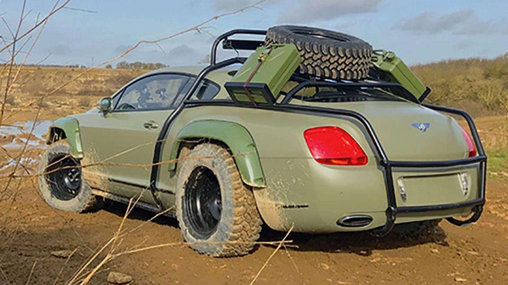 ВСети продали купе Bentley Continental GT, подготовленное дляапокалипсиса