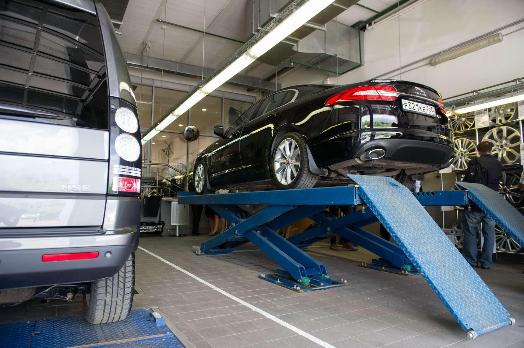 сервис Jaguar Land Rover