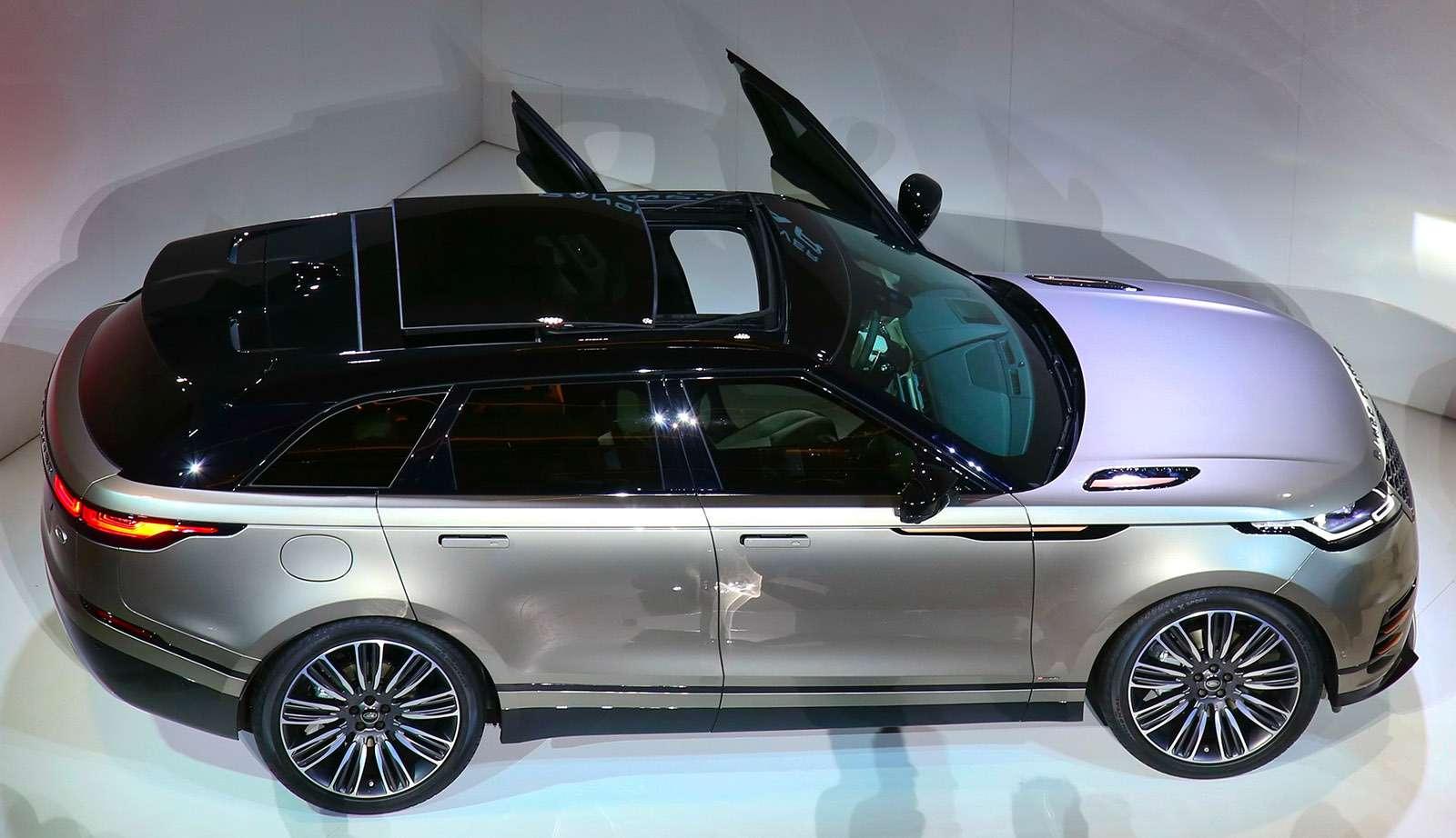 Range Rover Velar: отвал башки!..— фото 742198
